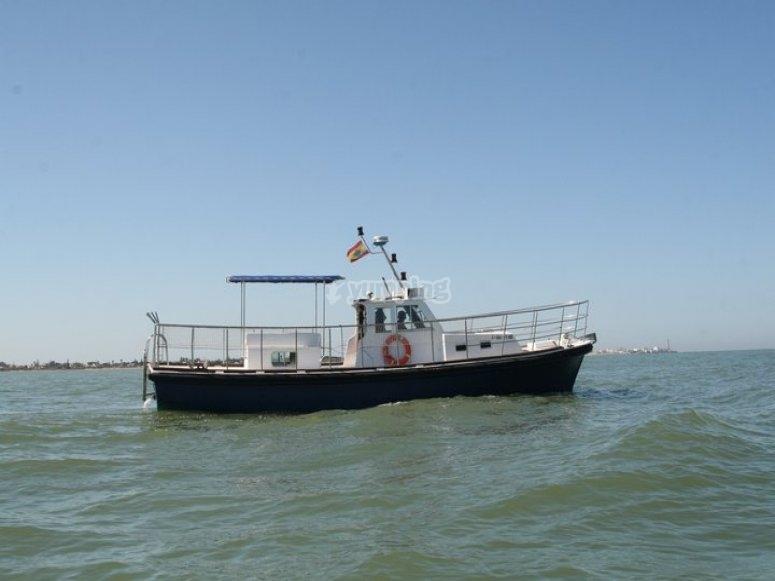 Travesia en barco