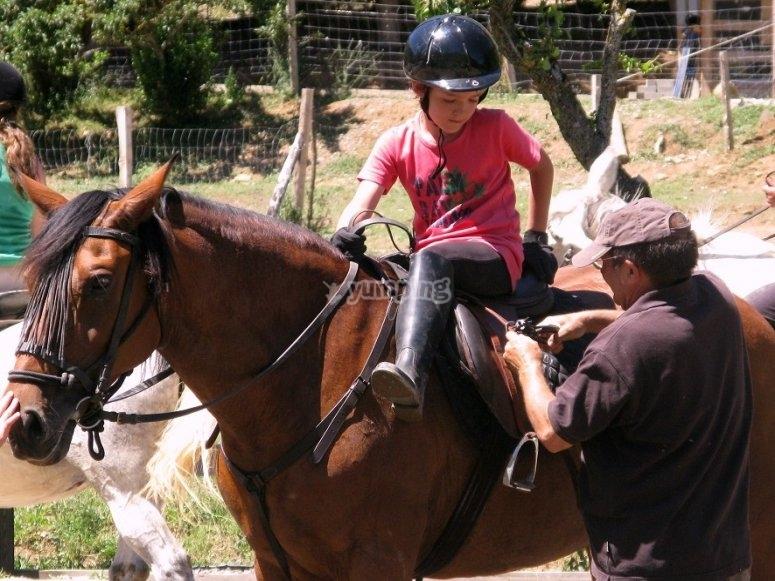 A lomos del caballo