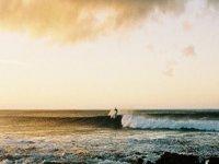 Goditi le lezioni di surf