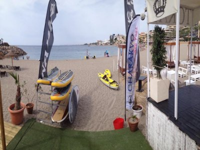 在Roquetas de Mar出租皮划艇,1小时