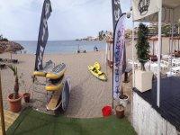 Instalaciones a pie de playa