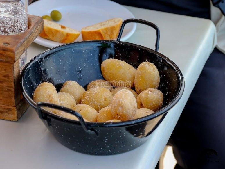 我们着名的皱纹土豆