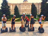 Group on segways in Madrid
