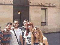Visitando el Teatro Cervantes