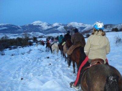 Equestrian camp for Christmas, Álava, 2 days