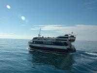 Paseo en catamarán