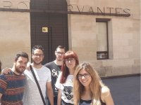 Visiting the Cervantes Theater
