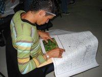 Buscando coordenadas en el mapa