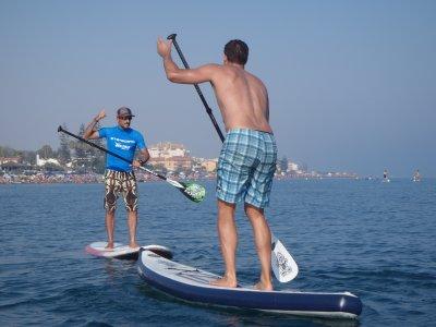 Clase de Paddle Surf en Málaga 1:30h