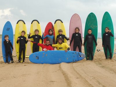 2-Hours Surfing Course in Somo
