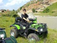 Enjoy the Valle d'Orino riding a quad