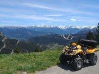 Quad route through the Valle d'Ordino