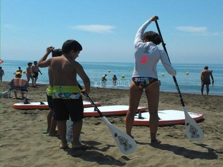 imparare a paddle