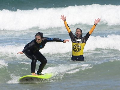 5-Days Surfing Training in Somo, 10-Hours