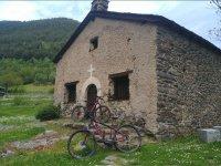 安道尔的电动山地自行车