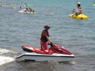 Jet ski rental for two in Salou (20 minutes)