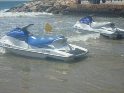 Jet ski in Platja de Llevant for two (30 minutes)