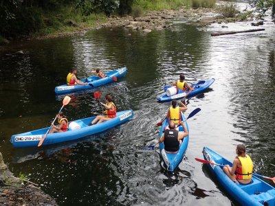 Initiatory Canoe Descent River Ason + Pics