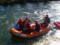 Rafting in the waters of the Tormes