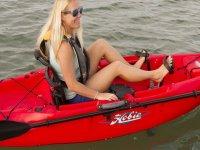 kayak con pedali