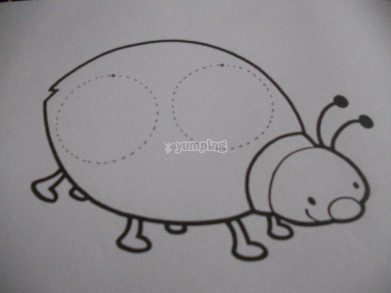 绘图的瓢虫