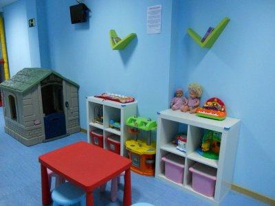 Morning play centre, 1-3 year children, Móstoles