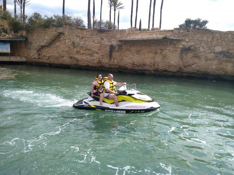 Salida en moto de agua por Costa Blanca