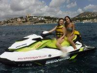 Excursión moto de agua por Jávea