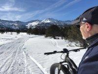 In bici attraverso Grau Roig