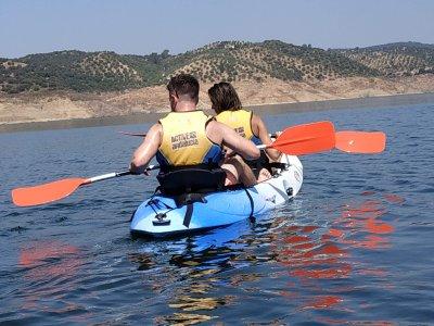 Alquiler de kayak doble en embalse de la Breña 1h