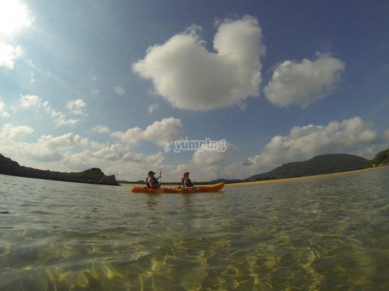 2-seater kayak.