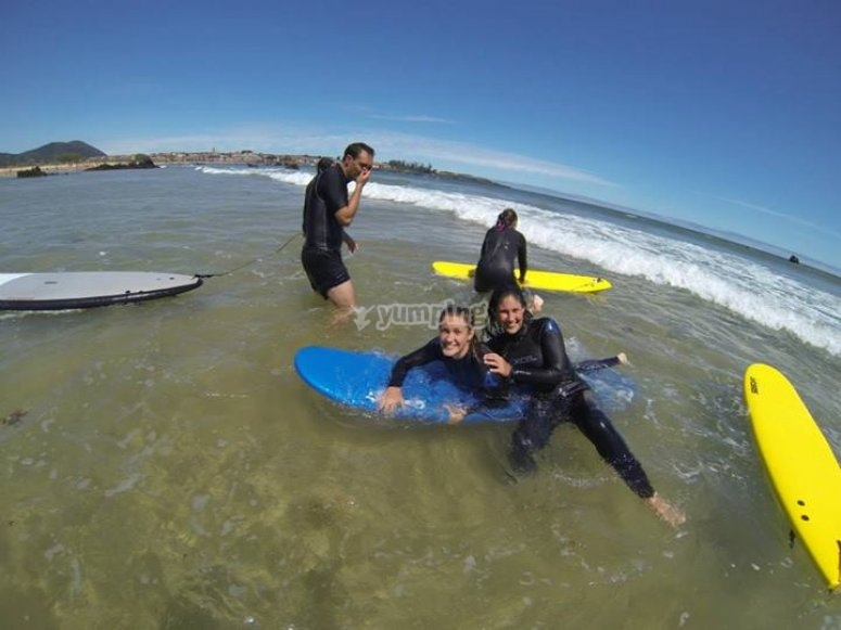 surfing session.