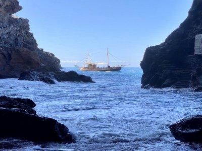 Bussard ruta marítima La Palma Niños