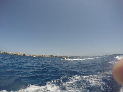 水上自行车游览海滩南梅诺卡岛30分钟