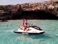 Jet-ski tour in waters Southern Menorca 30 min