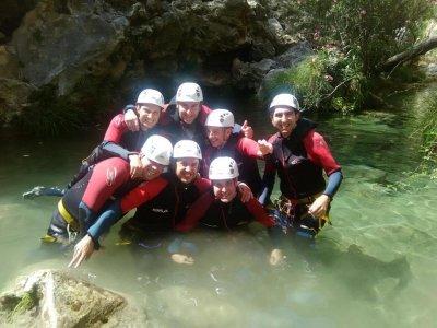 Barranquismo Tramo Completo en Río Verde Granada