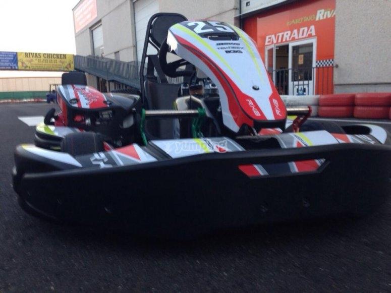 Uno de nuestros karting