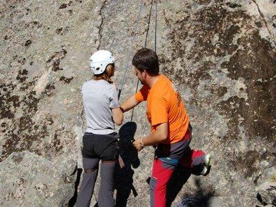 Curso de iniciación a la escalada en Ávila, 2 días