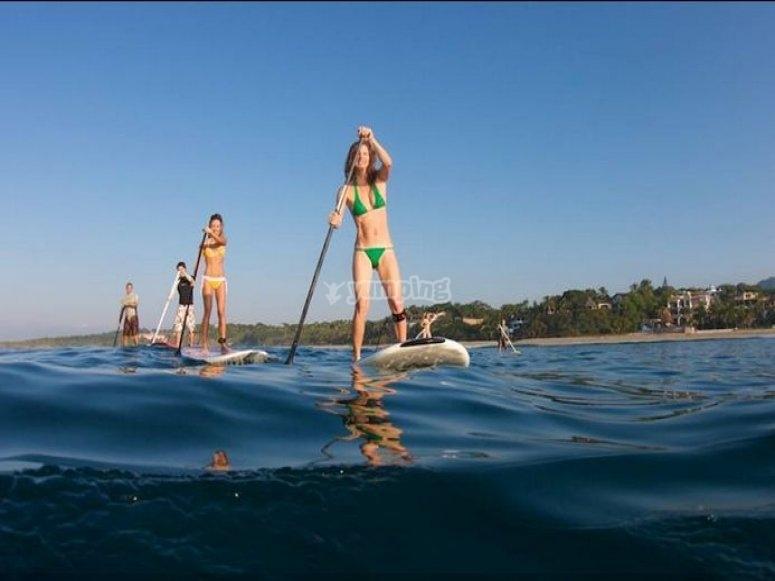 arte y salud en paddle surf
