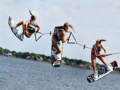Wakeboarding for 3 Pax. in Eivissa - 30'