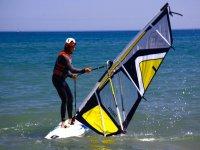 Iniciate en el windsurf.