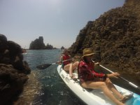 皮划艇路线与浮潜和照片阿尔梅利亚2:30h