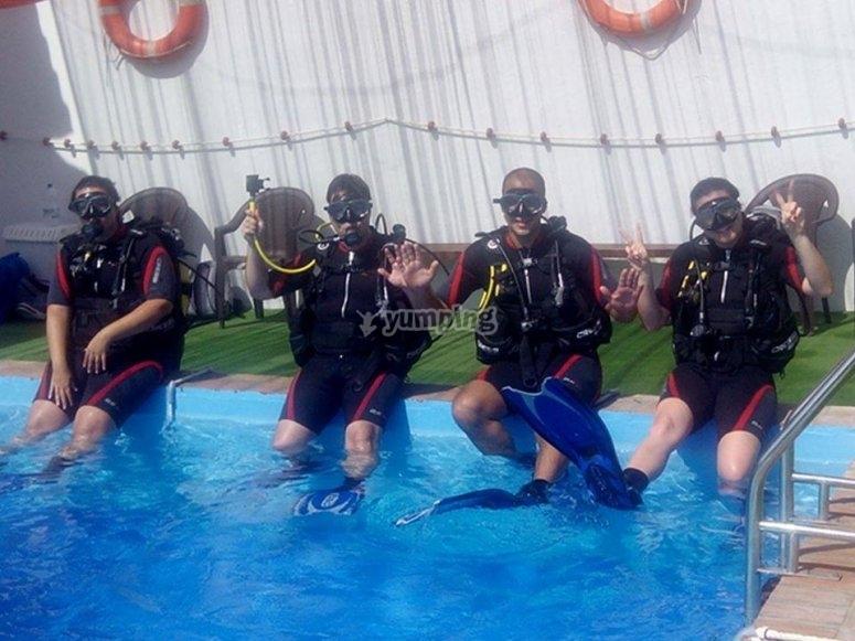 Cursos en nuestra piscina