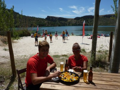 6h canoeing tour, Duratón gorges + paella for kids