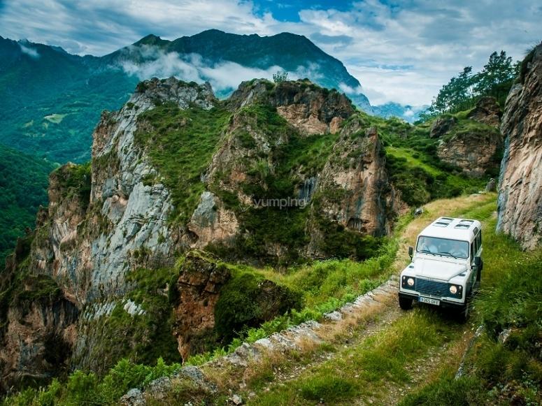 4x4 excursion in the Picos de Europa