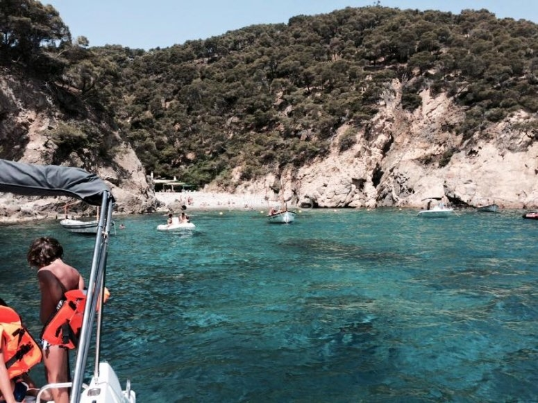Boat tour in Palamós