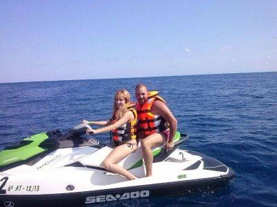 Excursión moto de agua biplaza en Benidorm 30 min