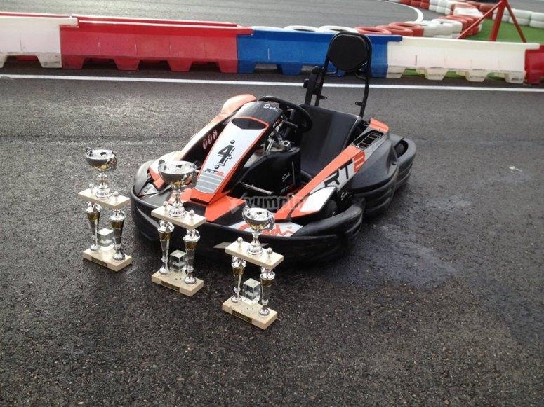 Kart y trofeos