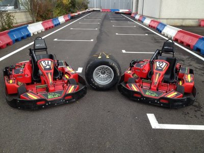 10 Min Karting Batch in Rivas for Adults