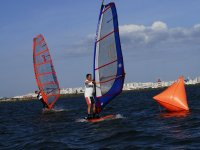 windsurfing in combarro